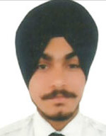 Inderpreet Singh  1st Position in Paper – |,  June 2013